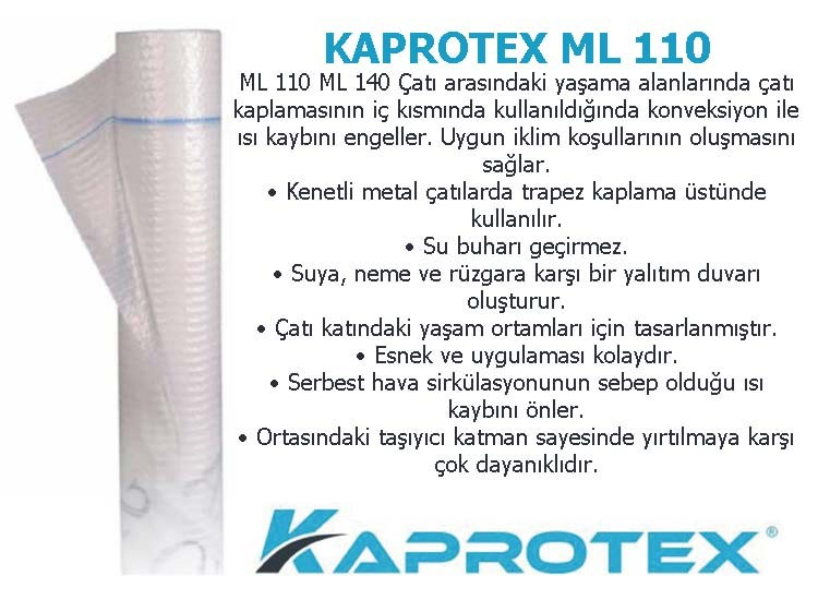 Buhar Kesici Kaprotex ML 110
